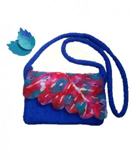 Felt Autumn Side Bag