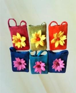 Bag - 12 petal flower
