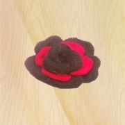 3 layer flower brooch