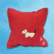 Dog Cushion - Red