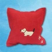 Dog Cushion - Red