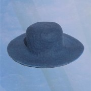 Brim hat - Dark Blue