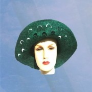 Pea Cock hat