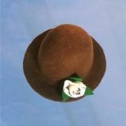 Thread Rose Brown Hat
