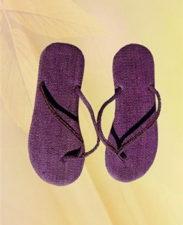 Simple Purple Slipper